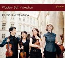 Pacific Quartet Vienna - Werden.Sein.Vergehen, CD