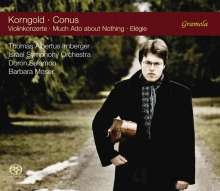 Julius Conus (1869-1942): Violinkonzert e-moll, Super Audio CD