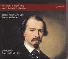 Ulf Bästlein - Lieder nach Lyrik von Emauel Geibel, CD