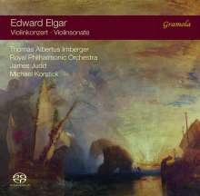 Edward Elgar (1857-1934): Violinkonzert op.61, SACD
