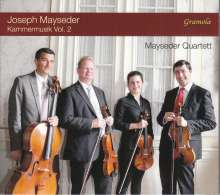 Joseph Mayseder (1789-1836): Kammermusik Vol. 2, CD