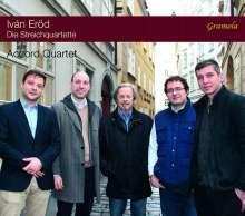 Ivan Eröd (geb. 1936): Streichquartette Nr.1-3 (op.18,26,78), CD