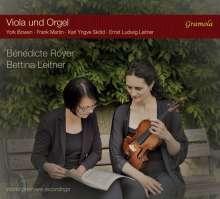 Benedicte Royer & Bettina Leitner - Viola & Orgel, CD