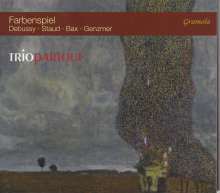 """Kammermusik für Flöte, Viola & Harfe """"Farbenspiel"""", CD"""