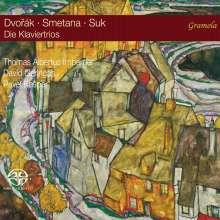 Antonin Dvorak (1841-1904): Klaviertrios Nr.1-4, 3 Super Audio CDs