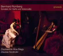Bernhard Romberg (1767-1841): Sonaten für Harfe & Cello op.5 Nr.1-3, CD