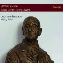Anton Bruckner (1824-1896): Streichquartett c-moll, CD