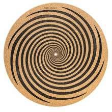 Schallplatten-Matte Slipmat SPIRAL (Kork), Zubehör