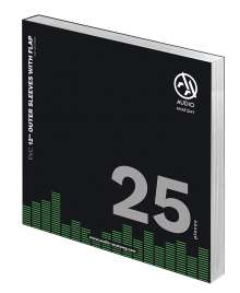 """25x 12"""" PVC With Flap Outer Sleeves (100 Micron), Zubehör"""