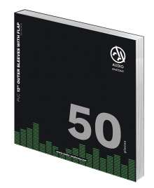 """50x 12"""" PVC With Flap Outer Sleeves (100 Micron), Zubehör"""