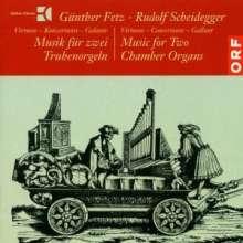 G.Fetz & R.Scheidegger - Musik für zwei Truhenorgeln, CD