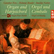 Günther Fetz, Helmut Binder, Imelda Natter - Orgel & Cembalo, CD