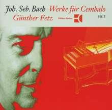 Johann Sebastian Bach (1685-1750): Englische Suiten BWV 807 & 808, CD