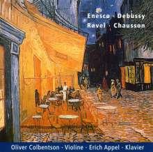 George Enescu (1881-1955): Sonate für Violine & Klavier Nr.3, CD