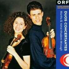 Martha & Vahid Khadem-Missagh - Duos Concertantes, CD