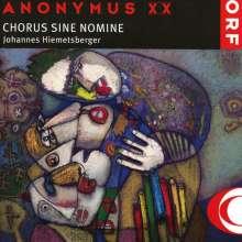Chorus Sine Nomine - Anonymus XX, CD