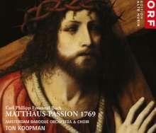 Carl Philipp Emanuel Bach (1714-1788): Matthäus-Passion 1769, 2 CDs