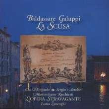 "Baldassare Galuppi (1706-1785): Kantate ""La Scusa"", CD"