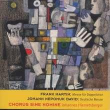 Johann Nepomuk David (1895-1977): Deutsche Messe op.42 für gemischten Chor a cappella, CD
