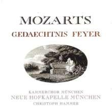Carl Cannabich (1771-1806): Mozarts Gedaechtnis Feyer, SACD