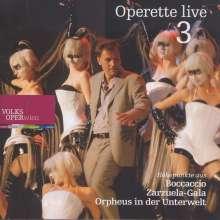 Operette Live 3, CD