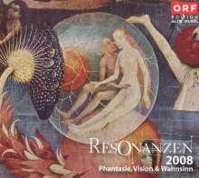 """Resonanzen 2008 """"Phantasie, Vision & Wahnsinn"""", 3 CDs"""