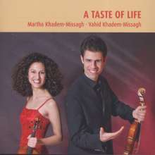 Martha & Vahid Khadem-Missagh - A Taste of Life, CD