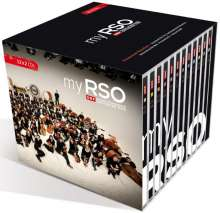 my RSO - Greatest Hits for Contemporary Orchestra, 24 CDs