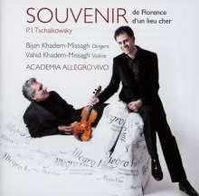 Peter Iljitsch Tschaikowsky (1840-1893): Souvenir de Florence für Streichorchester, CD