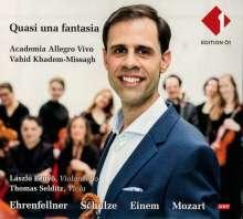 Christoph Ehrenfellner (geb. 1975): Quasi una Fantasia op.43 für Violine,Cello,Streicher, 2 CDs