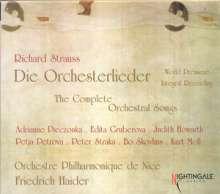 Richard Strauss (1864-1949): Sämtliche Orchesterlieder, 3 CDs