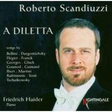 Roberto Scandiuzzi - A Diletta, CD