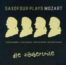 Saxofour: Die Zaubertröte: Saxofour Plays Mozart, CD