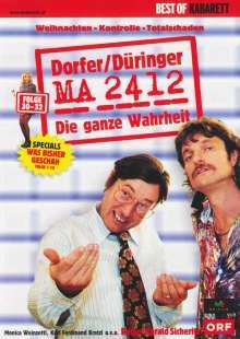 MA 2412 - Folgen 30-32, DVD