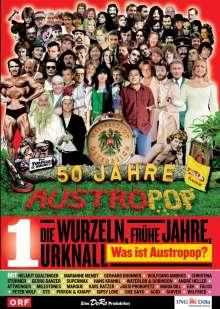 50 Jahre Austropop Folge 01: Die Wurzeln / Frühe Jahre, DVD