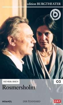 Rosmersholm, DVD