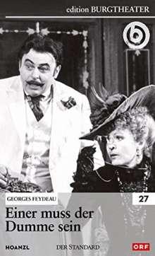 Einer muss der Dumme sein (Georges Feydeau), DVD