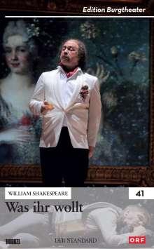 William Shakespeare: Was ihr wollt, DVD