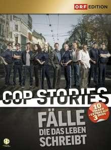 CopStories: Fälle die das Leben schreibt Staffel 1, 3 DVDs