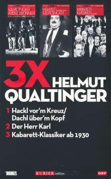 3x Helmut Qualtinger, 3 DVDs