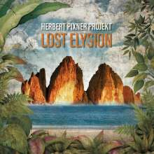 Herbert Pixner: Lost Elysion (180g) (Orange Vinyl) (Lenticular Cover), 2 LPs und 1 CD