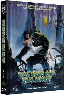 Das Ding aus dem Sumpf (Blu-ray & DVD im Mediabook), 1 Blu-ray Disc und 1 DVD