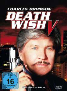Death Wish 5 - Antlitz des Todes (Blu-ray & DVD im Mediabook), 1 Blu-ray Disc und 1 DVD