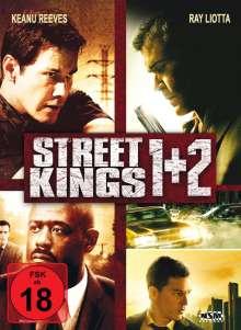Street Kings 1 & 2 (Blu-ray & DVD im Mediabook), 2 Blu-ray Discs und 2 DVDs