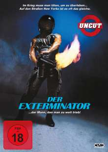The Exterminator, DVD