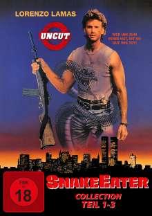 Snake Eater 1-3, 3 DVDs