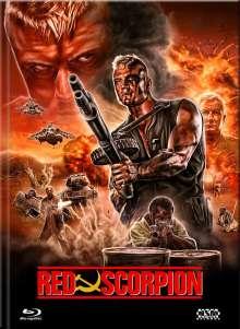 Red Scorpion (Blu-ray & DVD im Mediabook), 1 Blu-ray Disc und 1 DVD