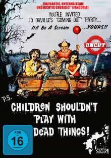 Children Shouldn't Play with Dead Things, DVD