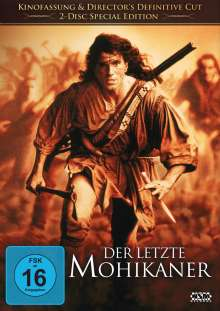 Der letzte Mohikaner (1992) (Kinofassung & Director's Definitive Cut), 2 DVDs
