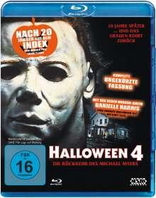 Halloween 4 (Blu-ray), Blu-ray Disc